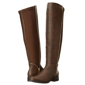 Luichiny Women's Phone Booth Riding Boot